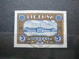 Lithuanian Child Lietuva Litauen Lituanie Litouwen Lithuania 1932 Used # Mi. 316 B - Lithuania