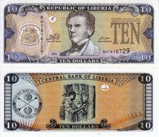 LIBERIA 10 DOLLARS 2011 - Liberia