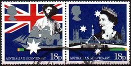 GREAT BRITAIN 1988 Bicentenary Of Australian Settlement: 18p Horizontal Pair - 1952-.... (Elizabeth II)