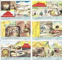 FIGURINE LIEBIG - SERIE CPL - I Grandi Trafori - 1962 - Sanguinetti 1788 - Liebig