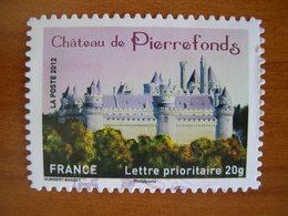 France Obl   N°  734  Cachet Rond Noir - France