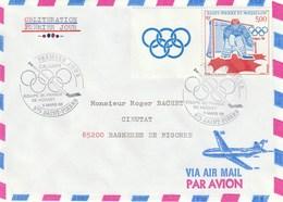 Lot De 10 Enveloppes Voyagées 1988 Avec PA - Collections, Lots & Séries