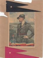 Gabriele D'Annunzio, Cartolina Viaggiata Su Supporto Cartaceo - Uomini Politici E Militari
