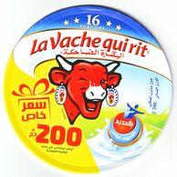 """Algérie - 1  Couvercle De  Fromage """" Vache Qui Rit"""" - Nouvelle Offre Limitée  (200.00 DA) - 16 Portions.. - Cheese"""