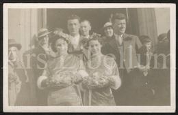 Photo Postcard / Foto / Photograph / Double Mariage (?) / Double Wedding (?) / England / Unused - Photographie