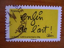 France Obl   N°  615  Cachet Rond Noir - France