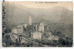 2337 - Corse - MONTEMAGGIORE - Collection Simon DAMIANI,  Cliché Peu Courant,  épaisse, TBE,  Scans. - Andere Gemeenten