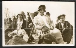 Photo Postcard / Foto / Photograph / Famille / Family / Seaside / La Plage / Boy / Garçon / Unused / England - Photographie