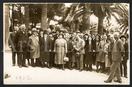 Photo Postcard / Foto / Photograph / Vacation / Holiday / 2 Scans / 1932 - Photographie