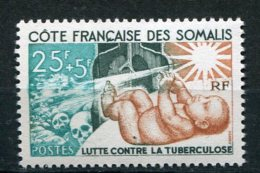 6362  COTE DES SOMALIES  N° 324**  Lutte Contre La Tuberculose  TTB - Somalia (1960-...)