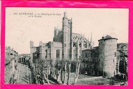 Cpa  Carte Postale Ancienne  - Narbonne La Basilique  St Just - Narbonne