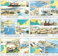 FIGURINE LIEBIG - SERIE CPL - Porti Italiani - 1962 - Sanguinetti 1784 - Liebig