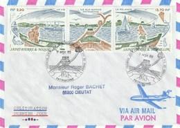 Lot De 12 Lettres Voyagées Dont PA De 1989 - Collections, Lots & Séries