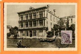 P111, Venezia, Canal Grande, Palazzo, Vendramin Calergi, 4590-14, Circulée 1929 - Venezia (Venice)