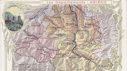 Les Departements ARIEGE Edition De La CHOCOLATERIE D'AIGUEBELLE - Autres Communes