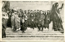 "CPA 1918, Pantheon De La Guerre, ""Alliance Russe 1914-1916"" - Oorlog 1914-18"
