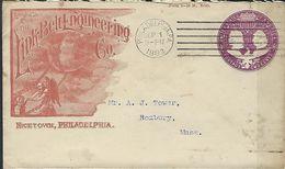 USA Bel Entier Illustré, Publicité - Postzegels