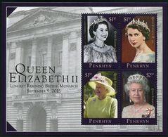 PENRHYN 2015 - Long Reigne De Sa Majesté Elisabeth II - BF Neufs // Mnh - Penrhyn