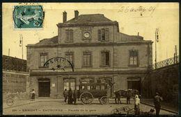 Cpa  Ermont Extérieur De La Gare,   Animée - Ermont
