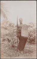 Witch Doctor, Belgian Congo, C.1910 - Thomas Lewis RP Postcard - Belgian Congo - Other