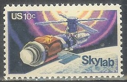 1974 10 Cents Space Skylab Mint Never Hinged - United States