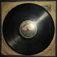 """Madame Butterfly"" +""La Tosca"" PUCCINI Par BROTHIER & BERTHON Opéra Disque Vinyle 78 T Tours GRAMOPHONE P687 Phonographe - 78 Rpm - Gramophone Records"