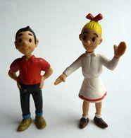 2 FIGURINES BOB ET BOBETTE MD TOYS 1995 BOBETTE Petit Frottement Sur Une Jambe - Figurines