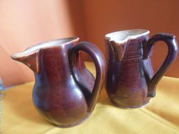 Deux Petits Pots à Lait Anciens - Ceramics & Pottery