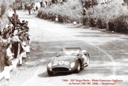 [MD1274] CPM - 92° TARGA FLORIO FERRARI 500 TRC 2000 TESTAROSSA - CON ANNULLO 23.5.2008 E FRANCOBOLLO - Non Viaggiata - Motorsport
