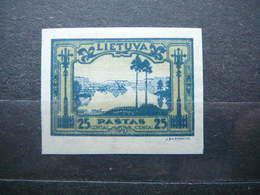 Lithuanian Child Lietuva Litauen Lituanie Litouwen Lithuania 1932 MH # Mi. 319 B - Lithuania