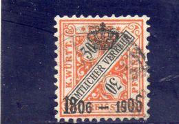 WURTTEMBERG 1906 O - Wurttemberg