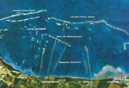 14 - ARROMANCHES - Vue Du Port Winston à La Verticale - Arromanches