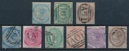 """BI-643: JAMAIQUE: """" Lot Avec N°entre 1 Et 13 Obl - Jamaica (...-1961)"""