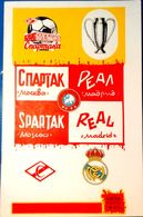 Football Programms - SPARTAK Moscow Vs.  REAL Madrid, Euro Cup 1991 ,  № 2. - Books