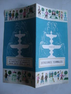 FRANCIA. ESTACIONES TERMALES - FRANCE, 1950 APROX. STATIONS THERMALES. DESSIN ALAIN CORNIC. - Dépliants Touristiques