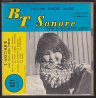 BT SONORE N° 821 - L'Arctique Avec Paul-Emile VICTOR - 1 Disque 45T - 12 Diapos - Vinyle - Other Collections