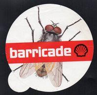 SHELL BARRICADE * INSECTE MOUCHE * - Autocollant  - Ref: 1271 - Stickers