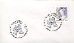 31950 Italia, Special Postmark 2002 Erba,   Honey Fest, Honig Fest, Miel, - Abeilles