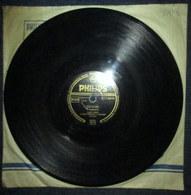 """Mein Papa"" BURKHARD + ""Serenata"" ANDERSON Harry JAMES & Paul WESTON Disque Vinyle 78 T Trs PHILIPPS B21159H Phonographe - 78 Rpm - Gramophone Records"