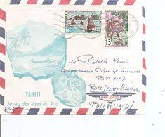 Polynésie ( Lettre Par Avion De 1969 De Tahiti Vers Le Burundi à Voir) - French Polynesia