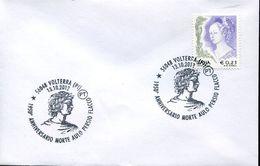 31953 Italia, Special Postmark  2012 Volterra, 1950thanniversary Death Aulo Persio Flacco, Roman Poet And Satirist - Autres