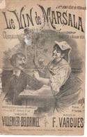 CAF CONC ROMANCE BOIRE PARTITION XIX LE VIN DE MARSALA VILLEMER DELORMEL VARGUES ILL FARIA DEBAILLEUL - Music & Instruments