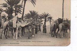 Cpa Colomb Béchar Groupe De Méharistes De La Saoura - Bechar (Colomb Béchar)