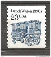 1991 Transportation Coil 23 Cents Lunch Wagon Coil Mint Never Hinged - United States
