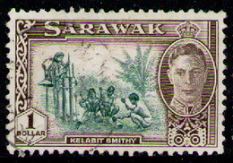 SARAWAK 1950 - From Set Used - Sarawak (...-1963)