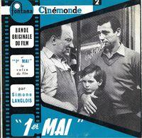 "B-O-F  Michel Emer / Fabrizi / Noël / Montand  ""  1er Mai  "" - Soundtracks, Film Music"
