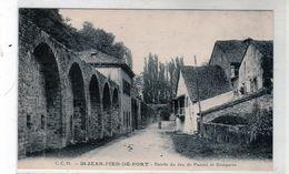 Cpa - Saint Jean Pied De Port - Entrée Du Jeu De Paume Et Remparts - - Saint Jean Pied De Port