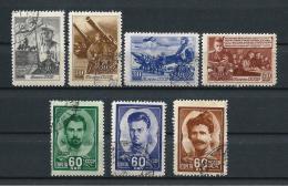 URSS408) 1948 -30°Anniv.rio Armata Rossa -Serie Cpl. 7val. USED - 1923-1991 URSS