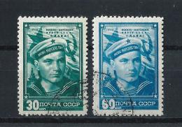 URSS411) 1948 -Giornata Dei MARINAI -  Serie Cpl. 2 Val.USED - 1923-1991 URSS