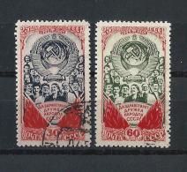 URSS413) 1948 -25°Anniv.rio URSS -  Serie Cpl. 2 Val.USED - 1923-1991 URSS